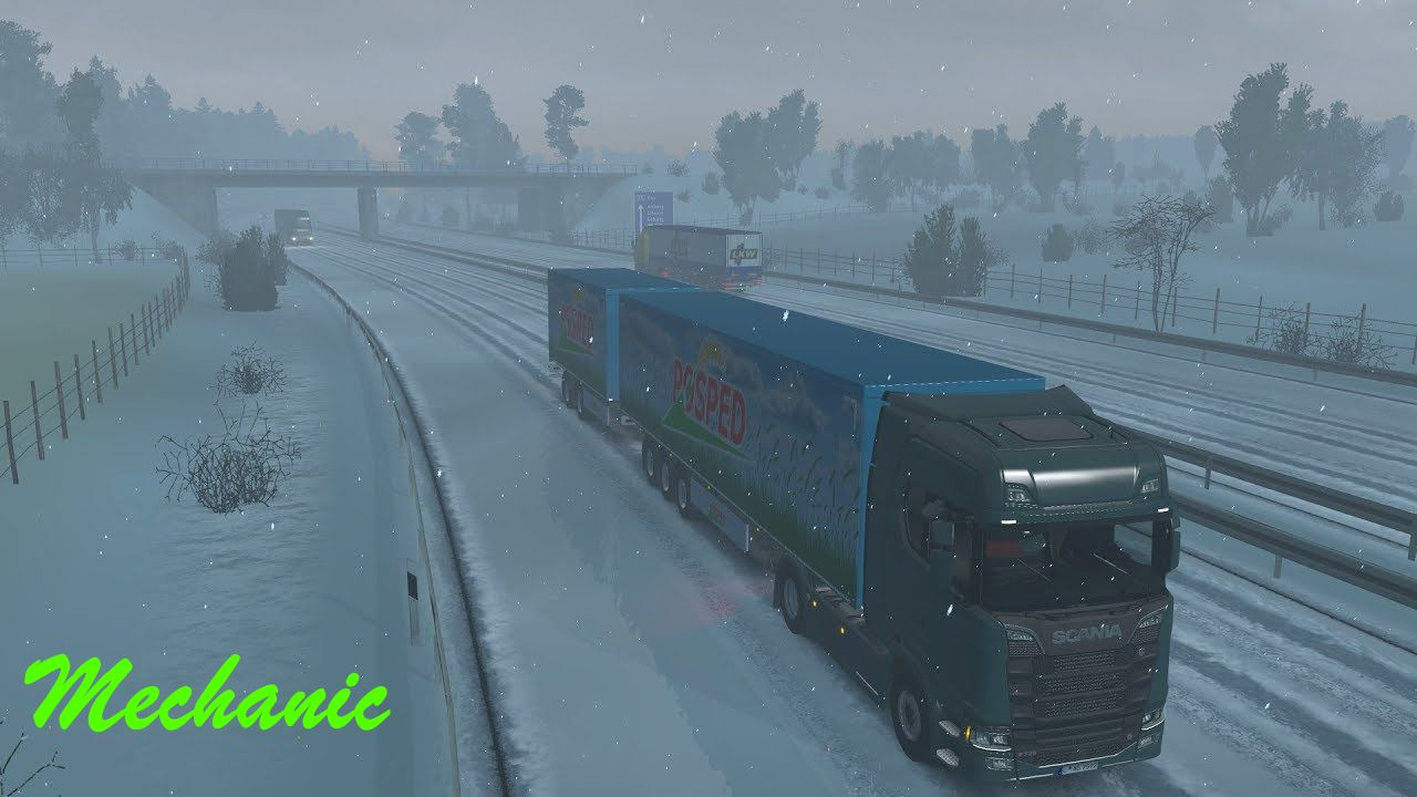 New Real WINTER HD 4K - ETS 2