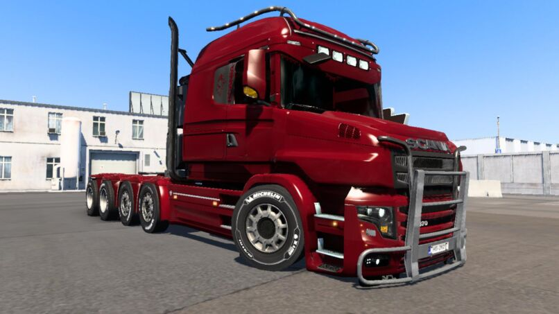 SCANIA ILLEGAL T - ETS 2.