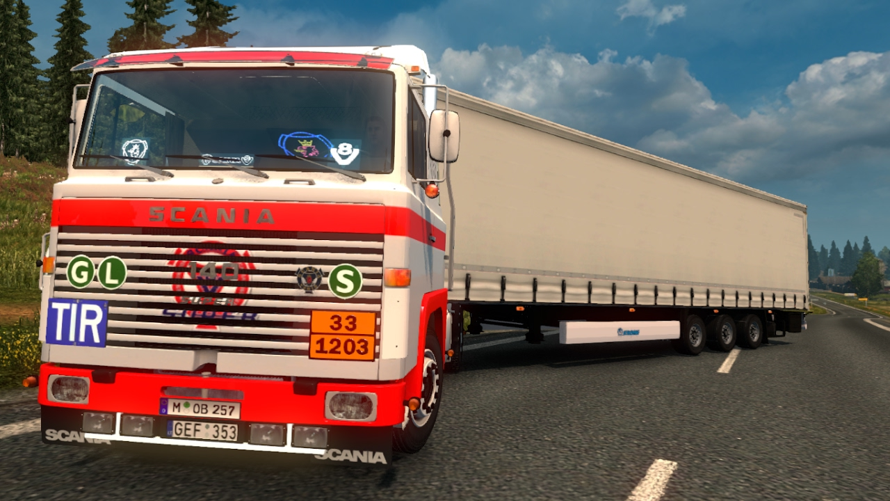 SCANIA 1 SERIES - ETS 2.